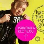 Isac Elliot 360 Show myi loppuun  – lisäkonsertin liput myyntiin huomenna!