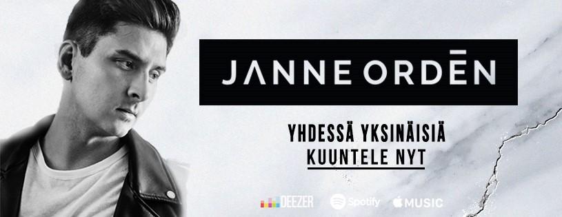 Janne Ordénilta uusi parisuhteen arkeen pureutuva hitti