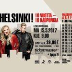 Haloo Helsinki! aloittaa massiivisen Hulluuden Highway-areenakiertueen lokakuussa