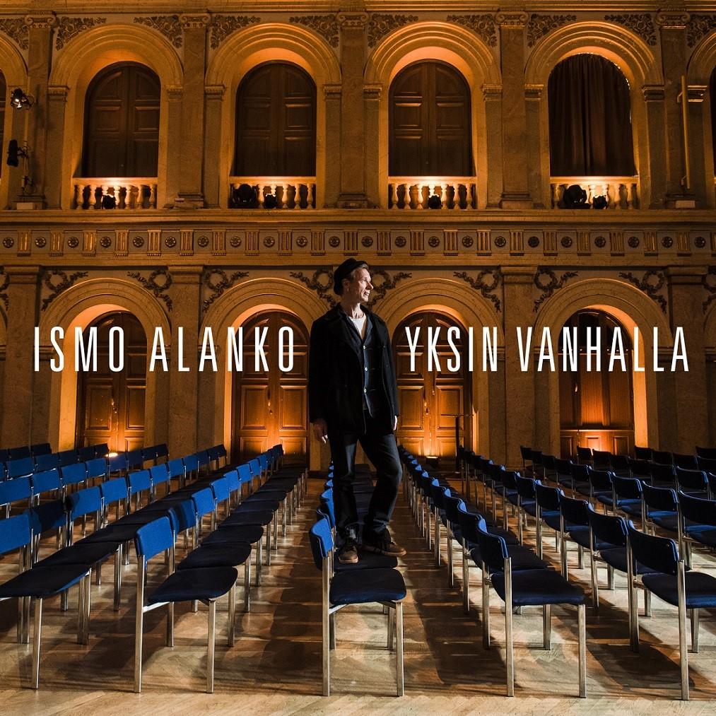 Yksin aina kaunihimpi – Ismo Alangon Yksin-kiertueesta livelevy, konsertit jatkuvat syksyllä.