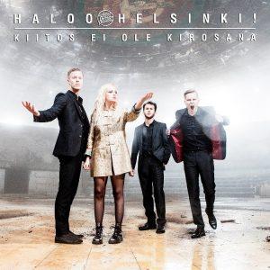 """Haloo Helsinki! -yhtyeen """"Kiitos ei ole kirosana"""" -albumista tuli kaikkien aikojen eniten listaviikkoja kerännyt albumi"""