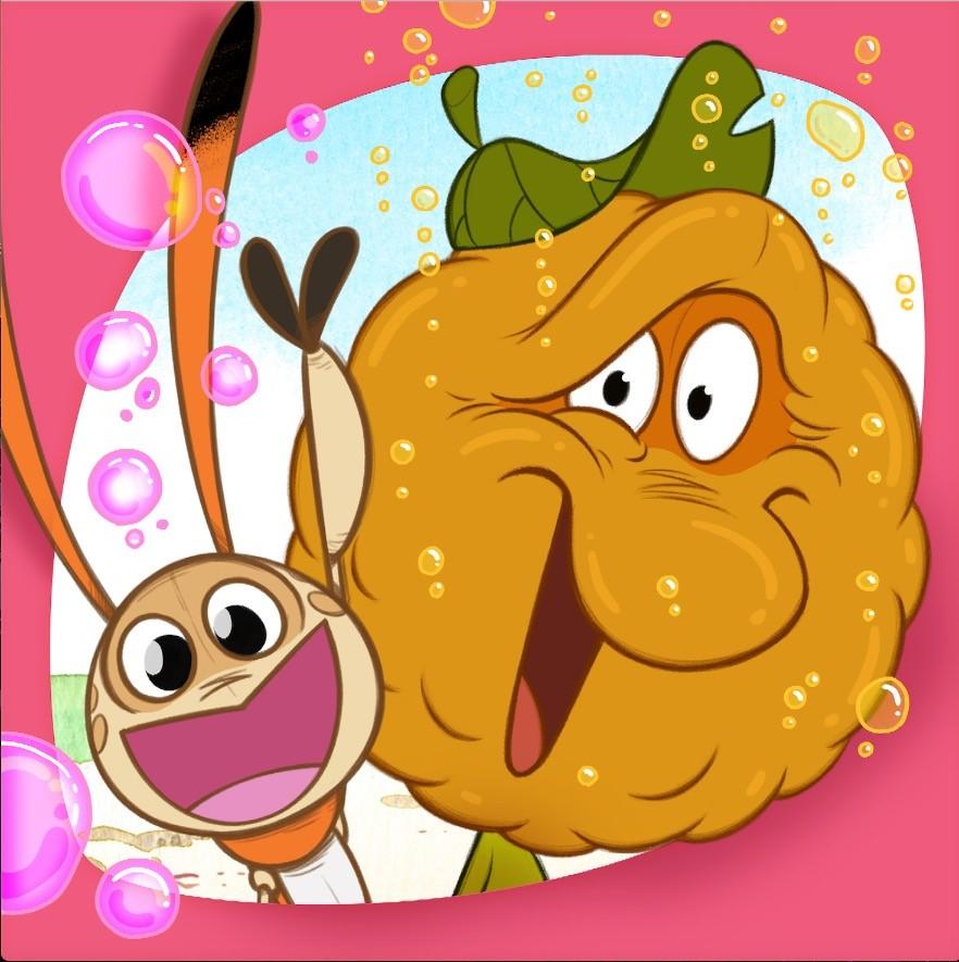 Kikattavan Kakkiaisen Simarusina on lasten vappujuhlien hitti!