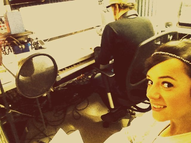Alizée en studio
