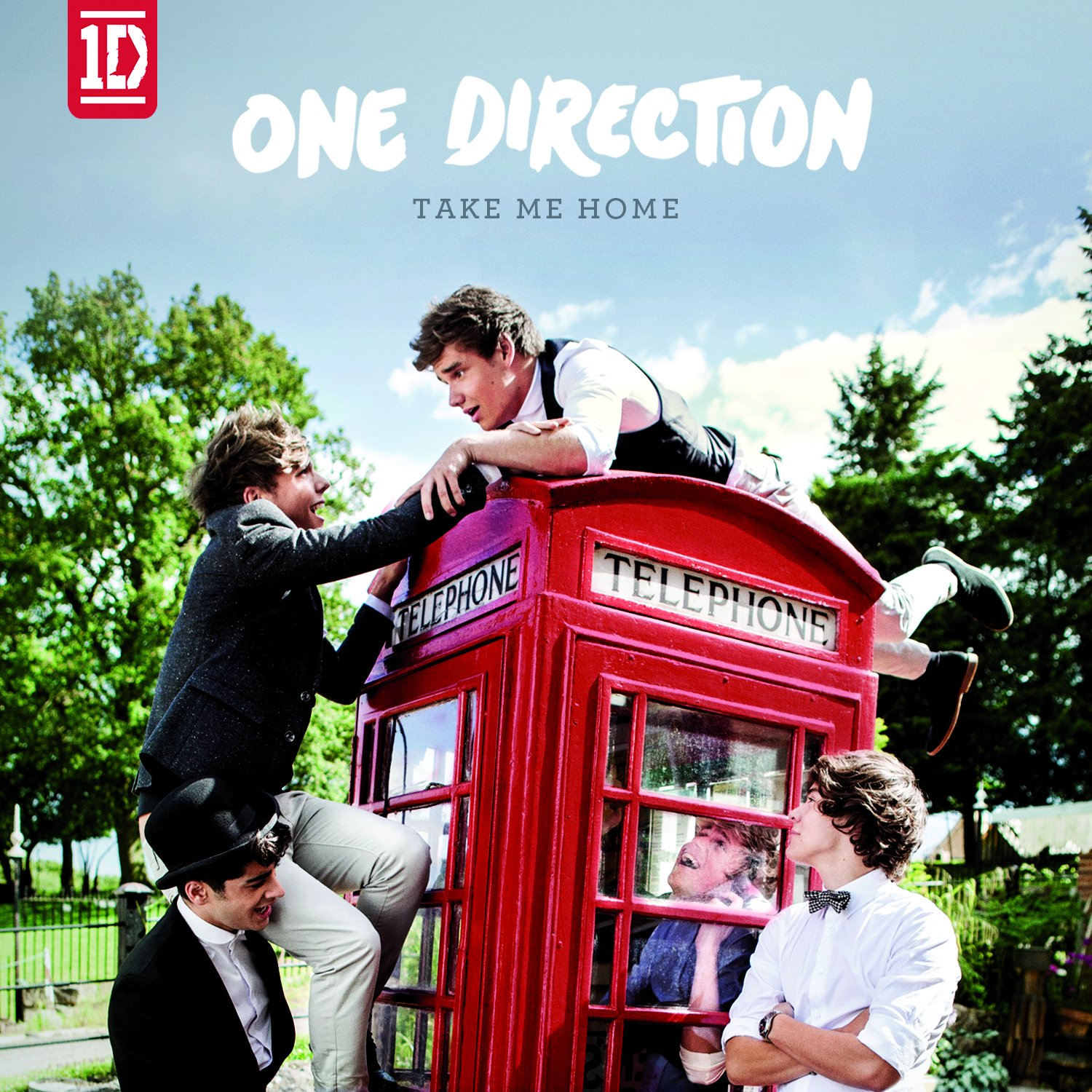 One Direction 1D_StandardAlbum Take Me Home