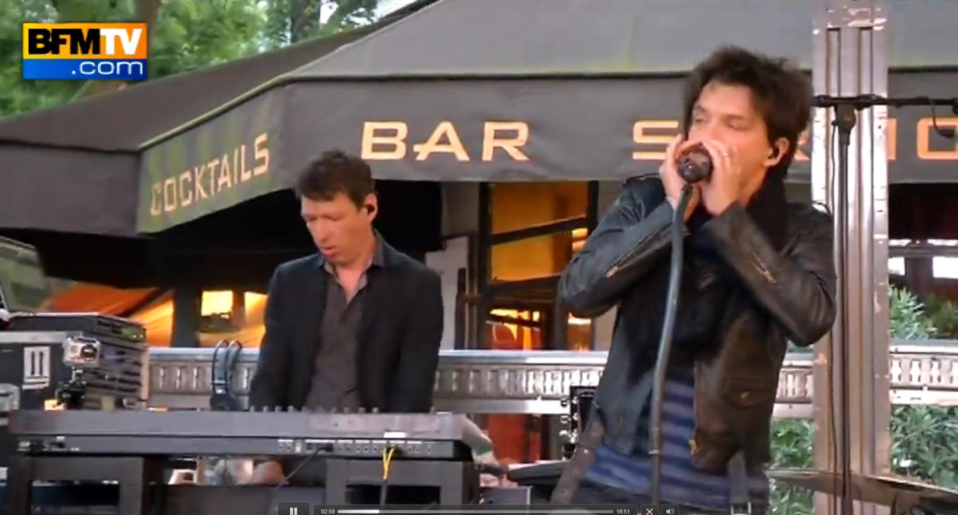 Concert surprise devant le Grand Rex, Paris – 24/06