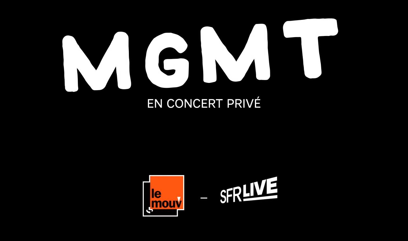 MGMT en concert privé