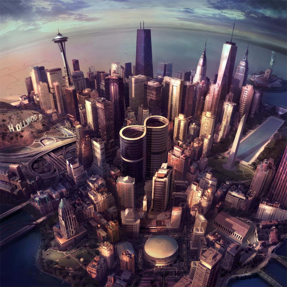 "Foo Fighters ""Sonic Highways"" en écoute en avant-première"