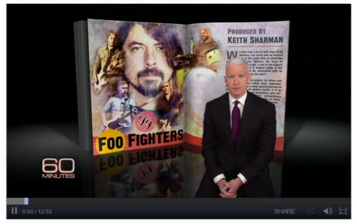 Foo Fighters celebrates American music