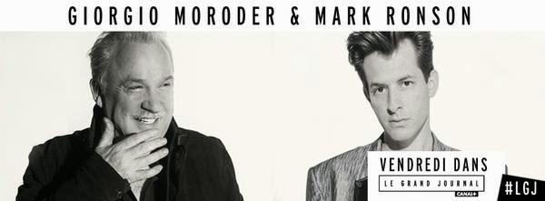 Le Grand Journal Mark Ronson & Giorgio Moroder