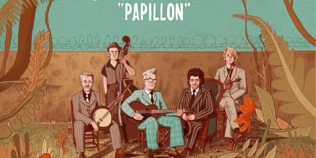 """""""Papillon"""", le nouvel album de Sanseverino"""