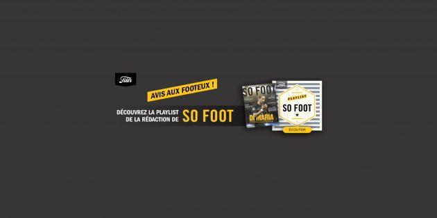 Filtr se met au ballon rond avec le magazine SO FOOT !