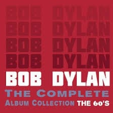 BOB DYLAN – The Complete Album Collection – The 60's