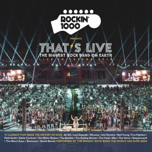 ROCKIN'1000 – That's Live – Live in Cesena 2016