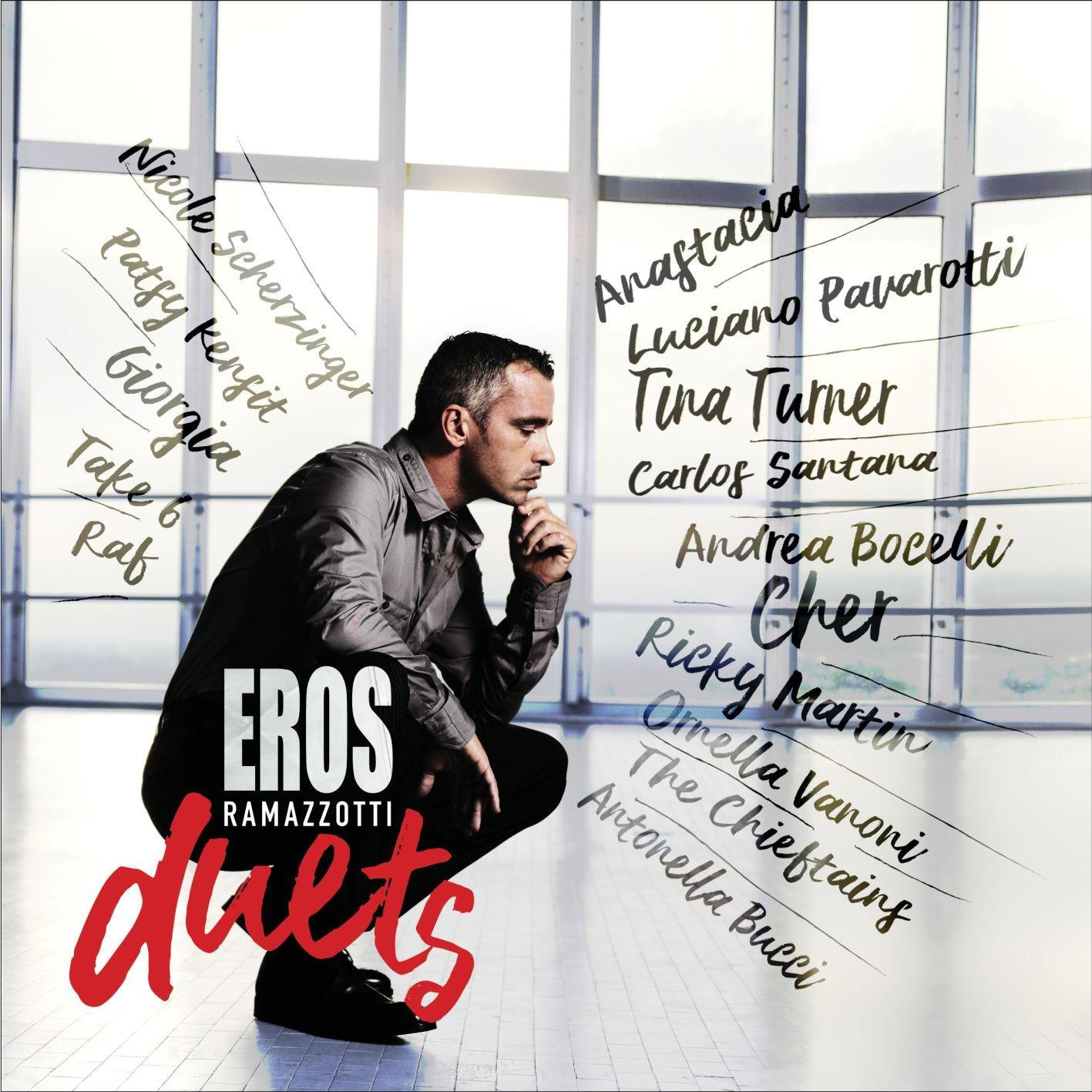 Tutti i duetti più importanti di Eros in un disco