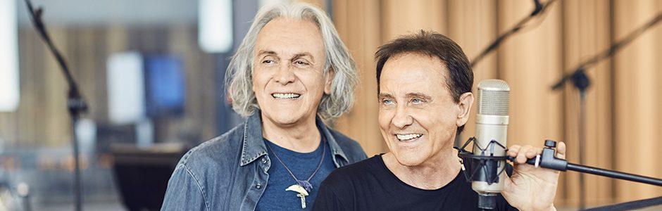 """""""Insieme"""" è il nuovo disco di Roby Facchinetti e Riccardo Fogli"""