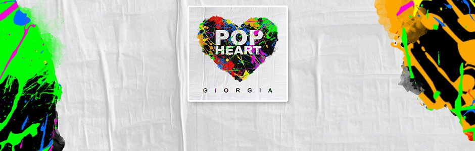 """""""Pop Heart"""" è il nuovo attesissimo album di Giorgia"""