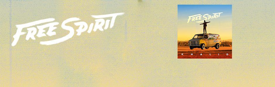 """Da oggi disponibile il nuovo album di KHALID """"FREE SPIRIT"""""""