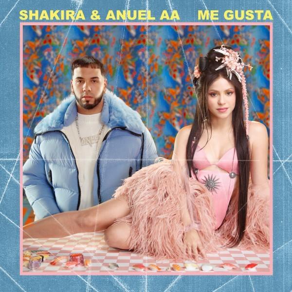 """L'artista multiplatino  pluripremiata ai Grammy Awards SHAKIRA torna in radio da venerdì 24 gennaio con il nuovo singolo """"ME GUSTA"""" con ANUEL AA"""