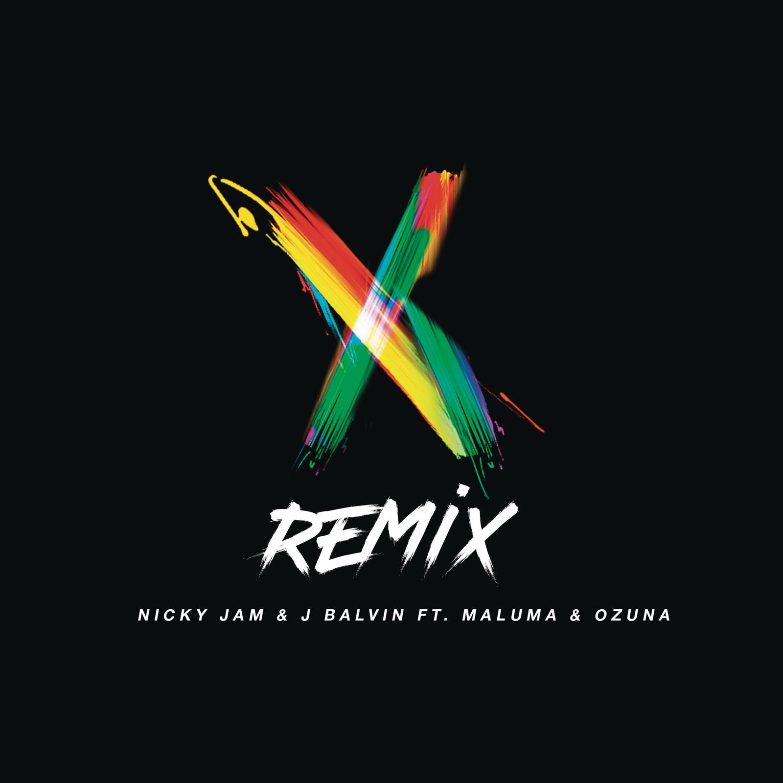 NickyJam_XRemix_Cover