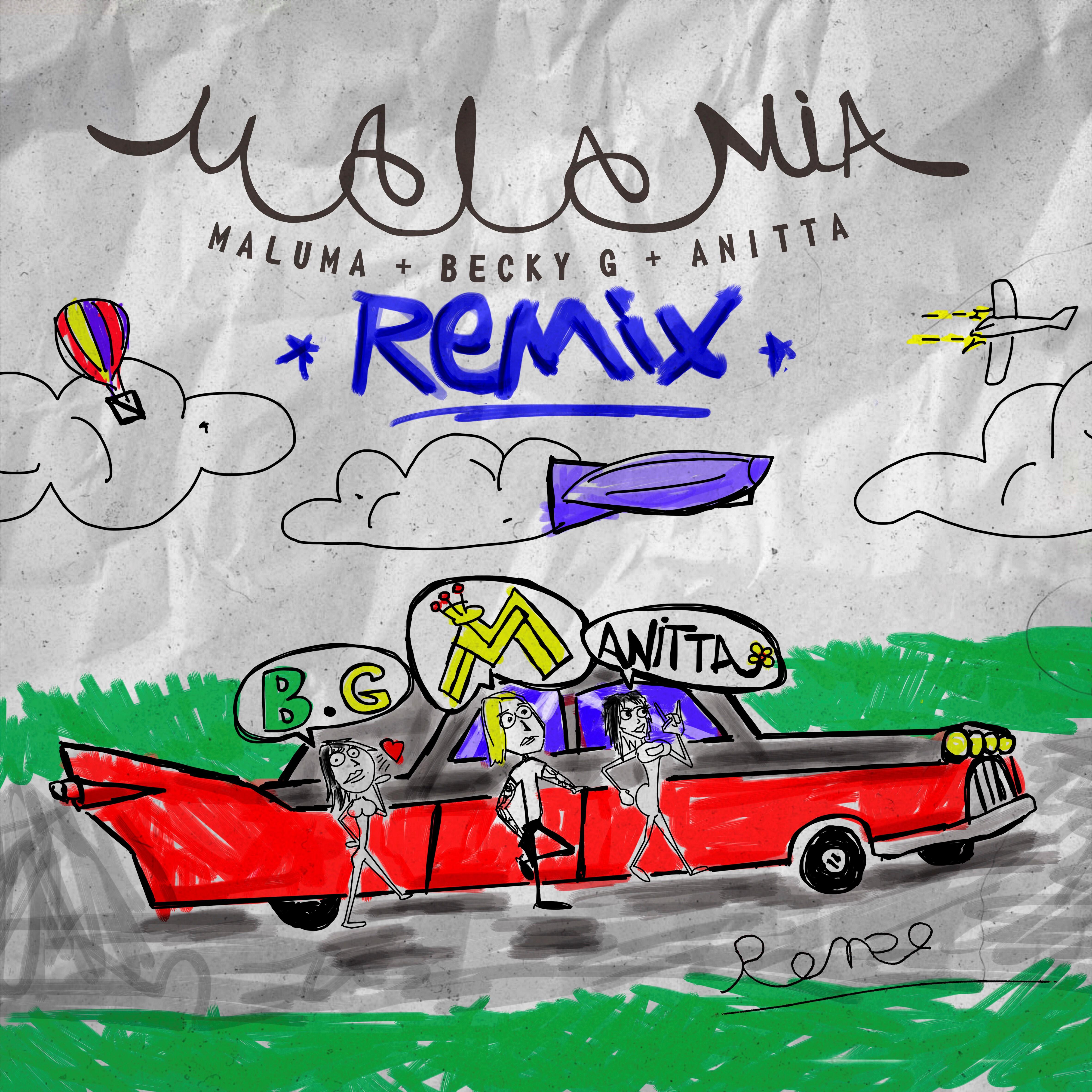 Cover Mala Mia Remix