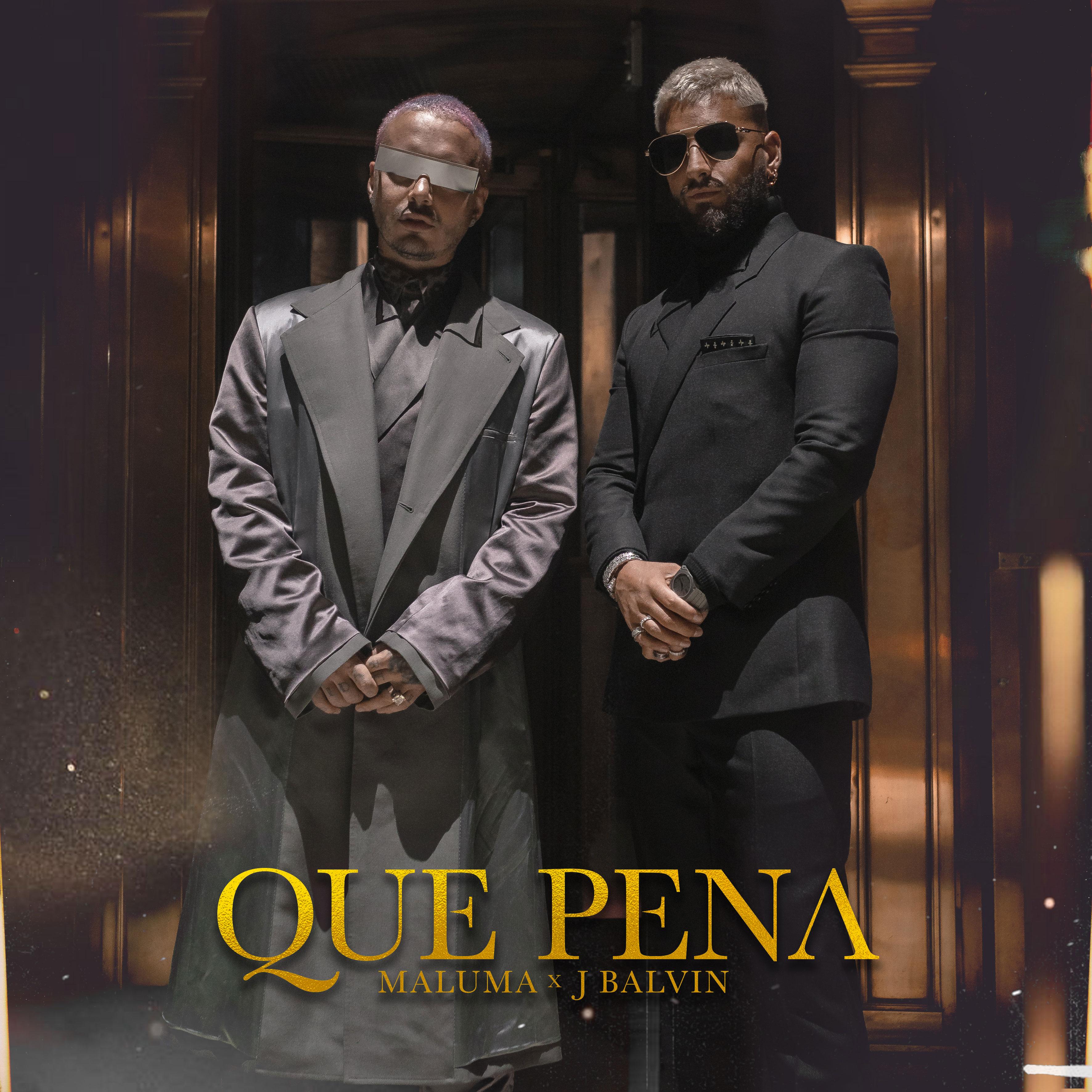Maluma-QuePena-Cover