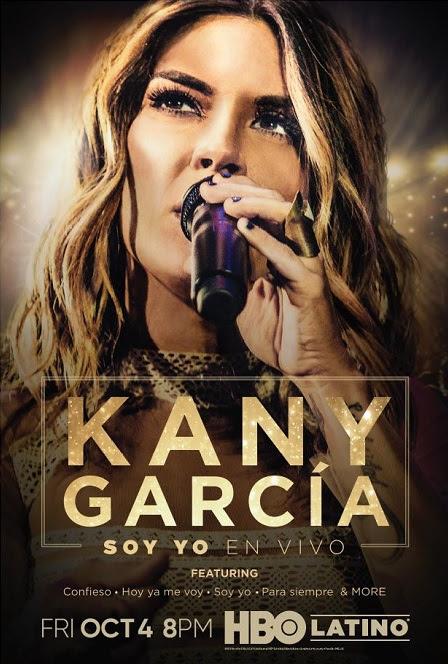 """KANY GARCÍA """"SOY YO EN VIVO"""" se estrena por HBO LATINO® el viernes 4 de octubre, a las 8 p.m. ET/PT"""