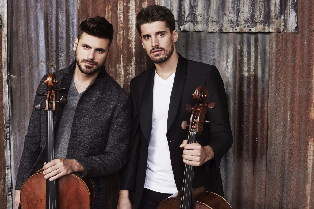 2CELLOS RELEASE NEW EUPHORIC VIDEO FOR THE INSPIRATIONAL