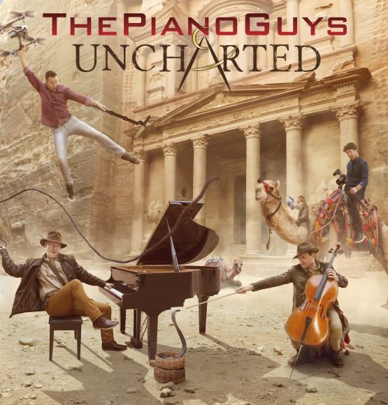 The Piano Guys Announce New Album Uncharted Out 10/28!