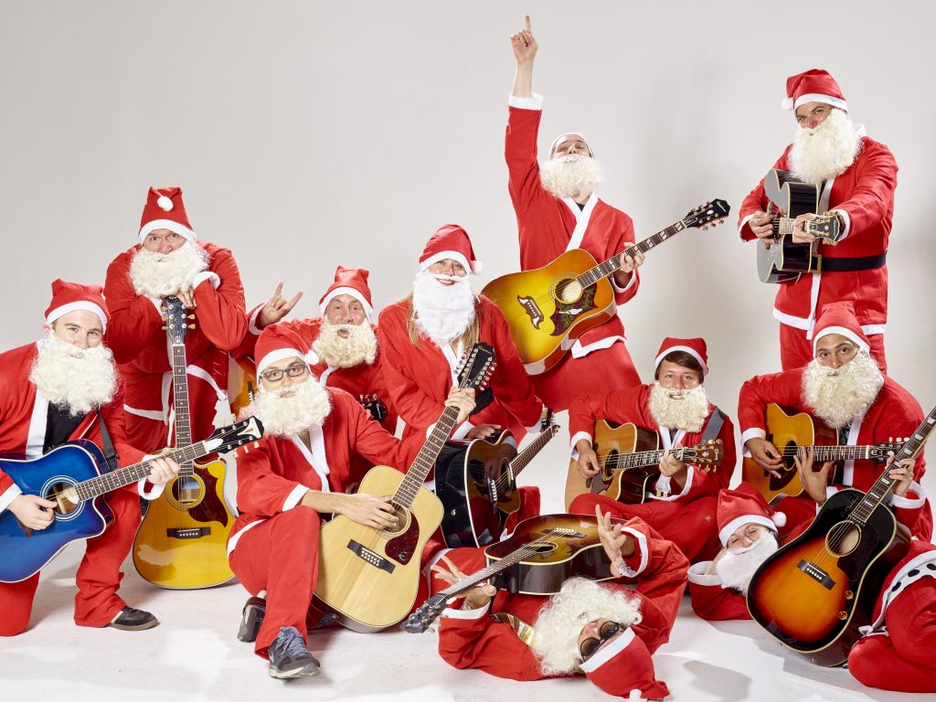 portrait records signs holiday supergroup band of merrymakers a donation will be made to. Black Bedroom Furniture Sets. Home Design Ideas
