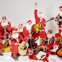 """PORTRAIT RECORDS SIGNS HOLIDAY SUPERGROUP """"BAND OF MERRYMAKERS"""" 