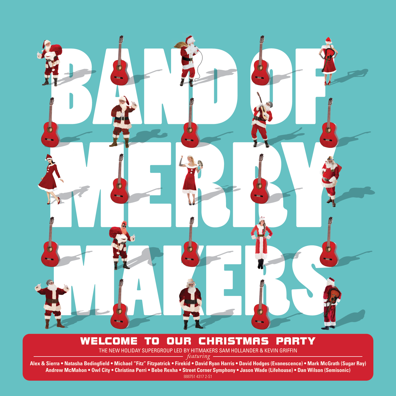"Entertainment Weekly Premieres Band of Merrymakers New Video for ""Snow, Snow, Snow"" Feat. Natasha Bedingfield, Owl City, Fitz of Fitz and the Tantrums, Mark McGrath"