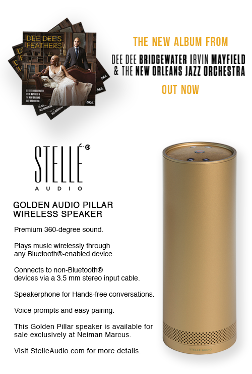 Enter to Win a Signed Dee Dee Bridgewater CD &  Stellé Audio® Speaker! | Dee Dee's Feathers Is Out Now