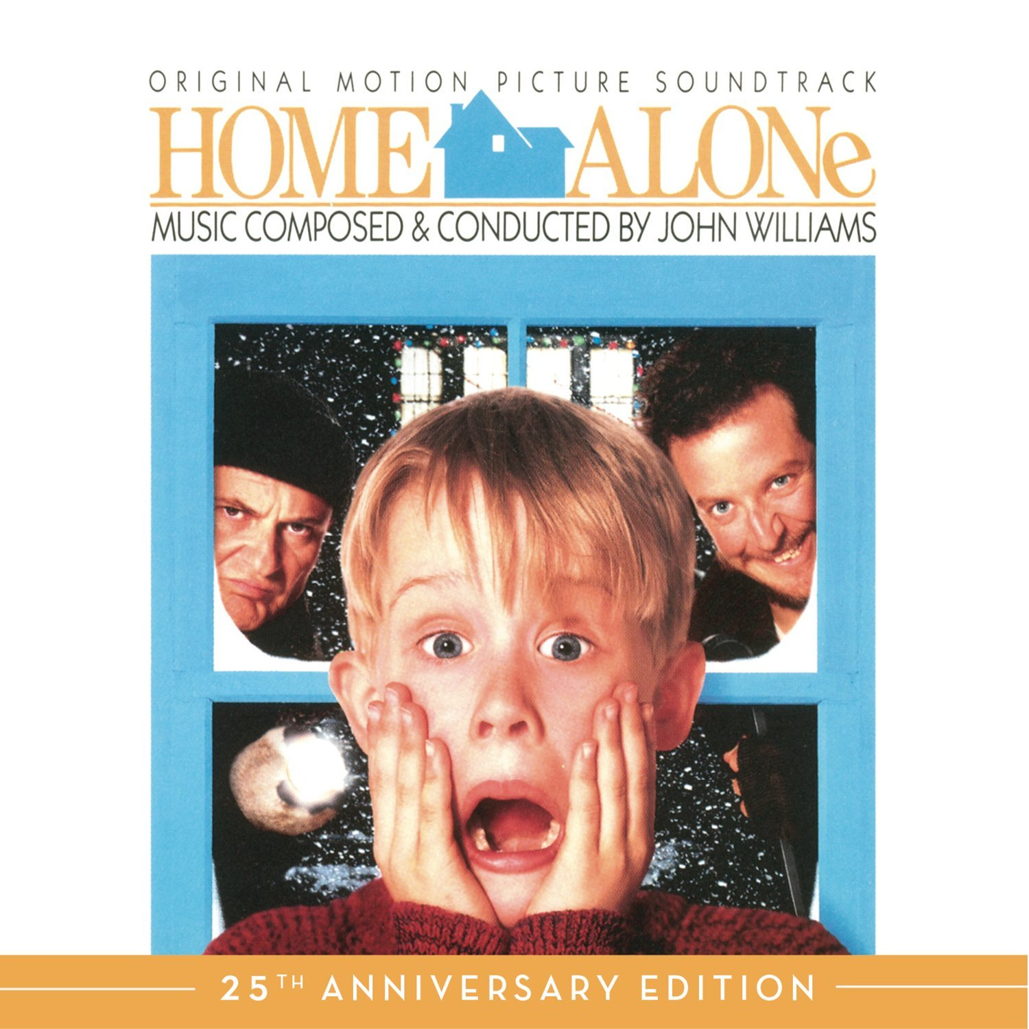 Christmas classic Home Alone 25th Anniversary Edition of the soundtrack composed by John Williams Out Now