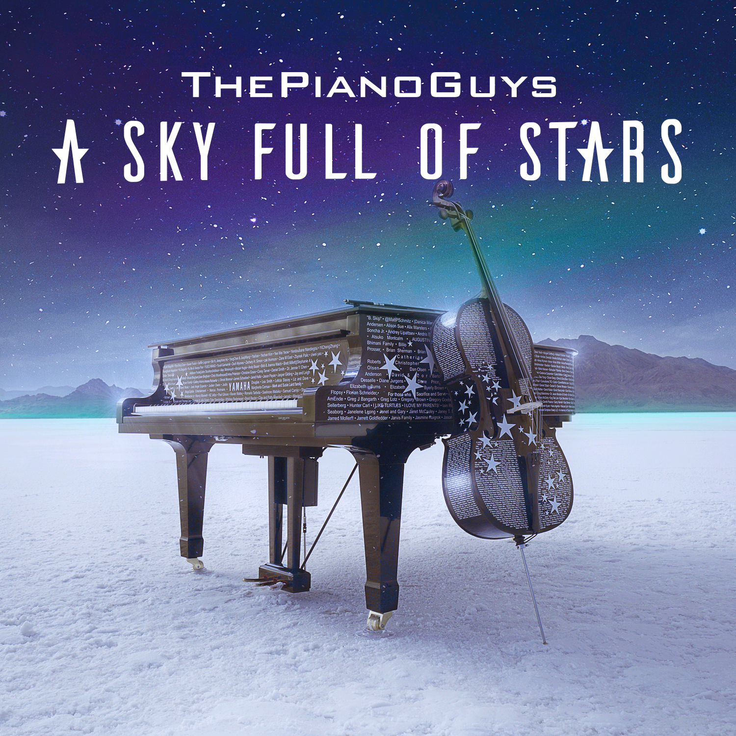 "The Piano Guys Beautiful New Cover of Coldplay's ""A Sky Full of Stars"" Out Now"