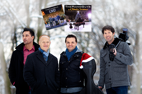 Have Yourself a #MerryMasterworks Holiday! | The Piano Guys Christmas Vinyl & CD Giveaway
