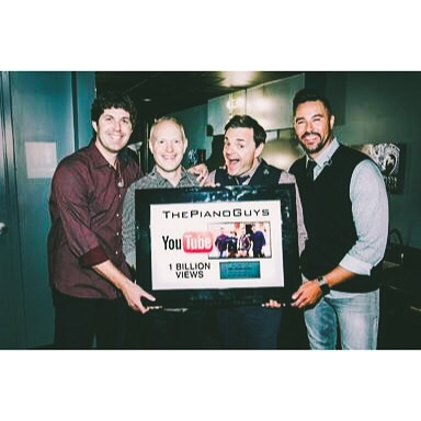 The Piano Guys Reach 1 Billion Views on YouTube!