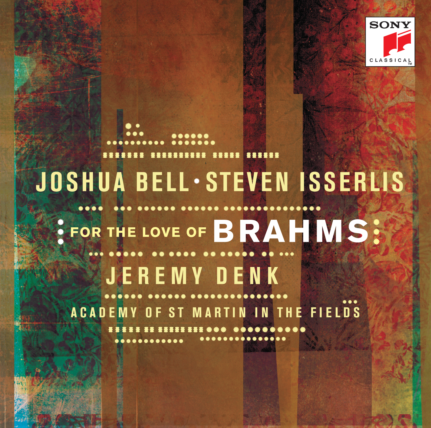 MUSIC ABOUT LOVE AND FRIENDSHIP INSPIRES JOSHUA BELL AND STEVEN ISSERLIS ON NEW ALBUM FOR THE LOVE OF BRAHMS