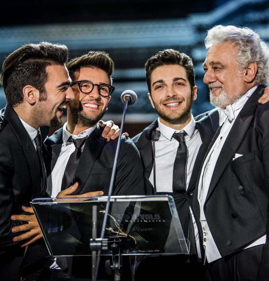 IL VOLO WITH SPECIAL GUEST PLÁCIDO DOMINGO  RELEASE NEW ALBUM  NOTTE MAGICA – A TRIBUTE TO THE THREE TENORS