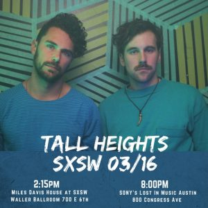 See Sony Masterworks Artists The Accidentals, Tall Heights and Allison Pierce at SXSW!