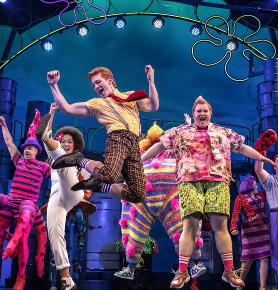 "THE NEW YORK TIMES IS CALLING SPONGEBOB SQUAREPANTS ON BROADWAY ""IMAGINATIVE & PERVERSELY BRILLIANT!"""