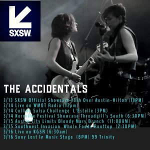 The Accidentals Voted SXSW 2018 Must See Musical Pick + New Roland Session Out Now