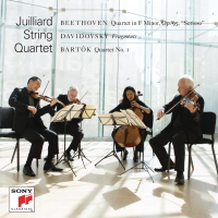 THE JUILLIARD STRING QUARTET Celebrates Its Eighth Decade with a New Recording of Music  Of Beethoven, Bartók and Mario Davidovsky | Out Now!