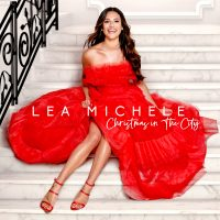LEA MICHELE REUNITES WITH GLEE COSTARS AND PRODUCERS FOR HER FIRST CHRISTMAS ALBUM Image