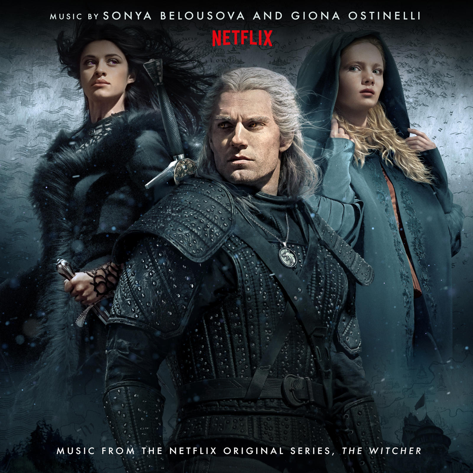 Listen To The Music from the Netflix Original Series, The Witcher!