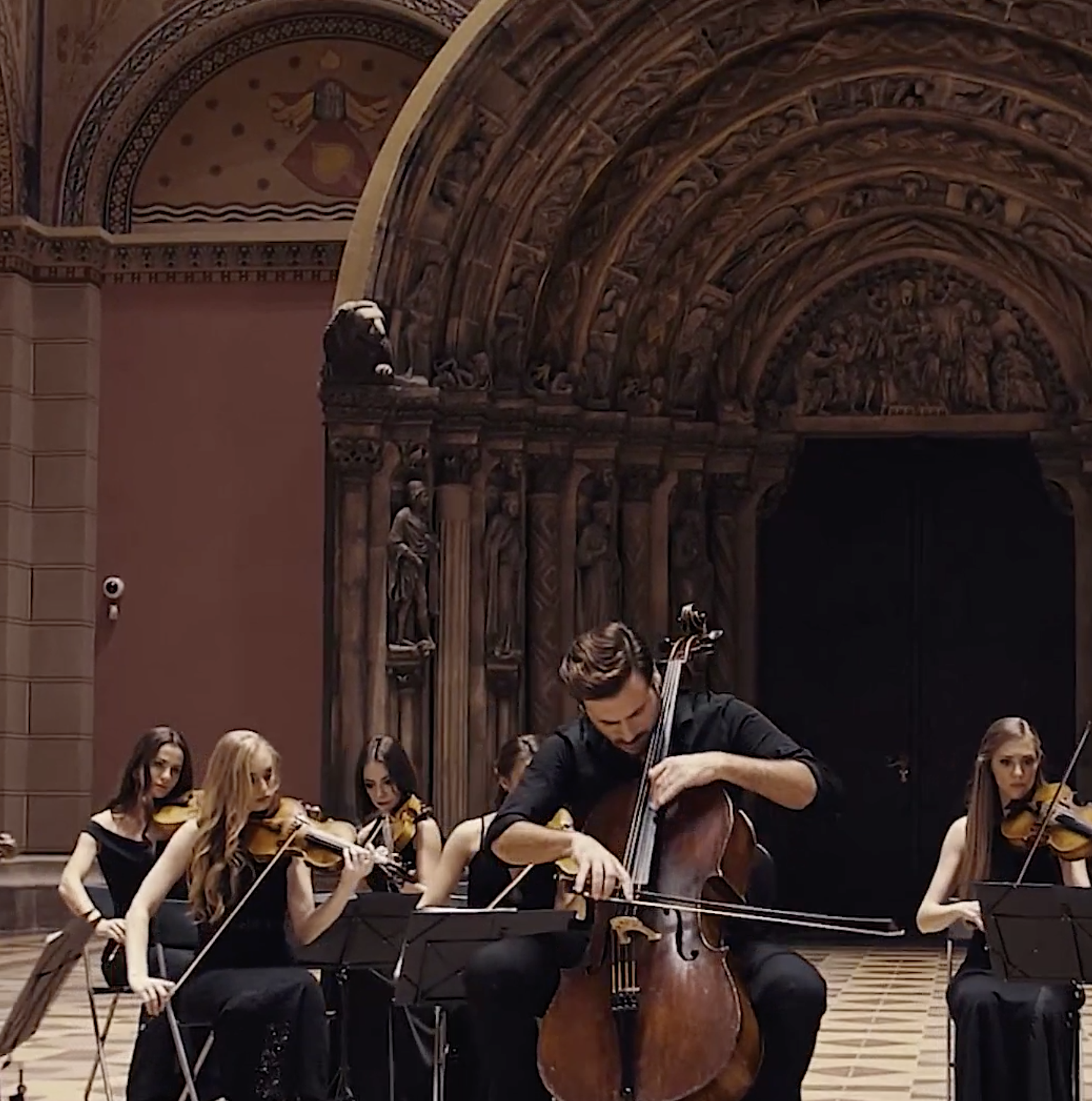 "HAUSER DEBUTS NEW MUSIC VIDEO FOR ""ADAGIO FOR STRINGS"""