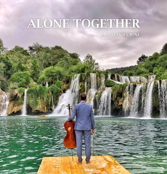 "Watch HAUSER'S ""Alone, Together – From Krka Waterfalls""!"