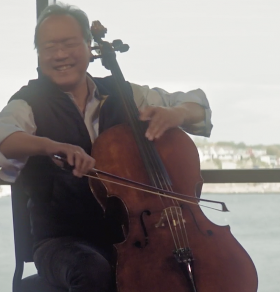 "YO-YO MA & KATHRYN STOTT PREMIERE NEW TRACK & VIDEO ""OVER THE RAINBOW"" PRE-ORDER ALBUM NOW!"