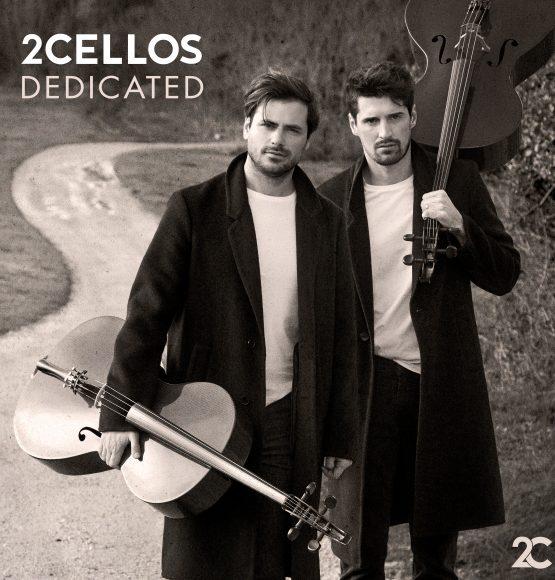 "2CELLOS RELEASE NEW ALBUM ""DEDICATED"""