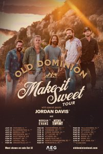 """Old Dominion Unveils New Single and Tour """"Make It Sweet"""""""