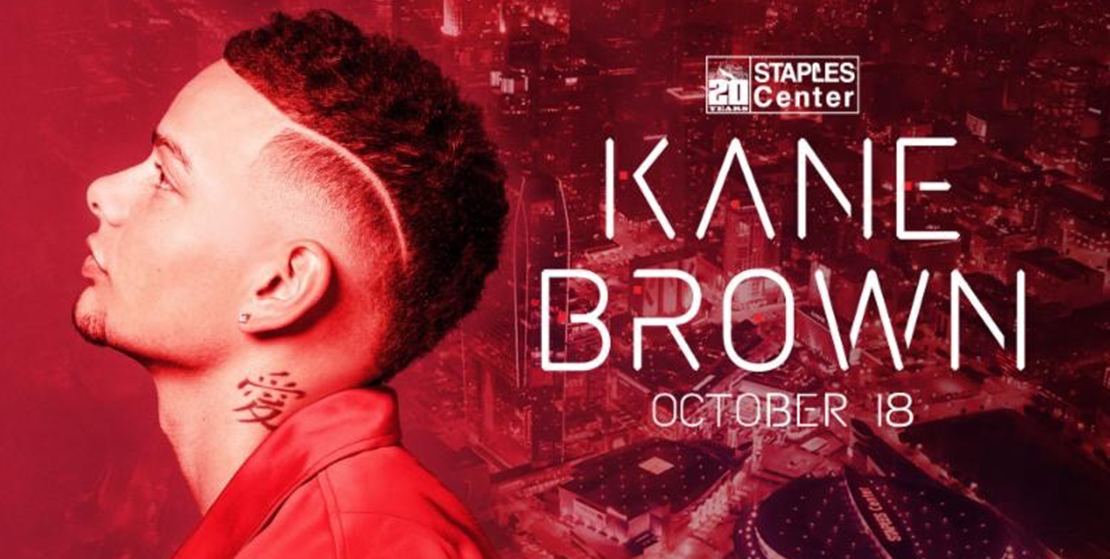 KANE BROWN SELLS OUT STAPLES CENTER IN UNDER TWO HOURS